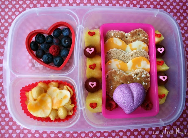 Valentine's Day Lunch: How Many Hearts Can You Find?