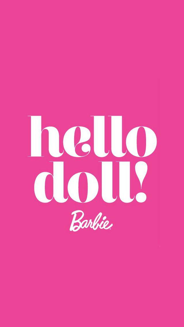 Barbie Wallpaper Pink 96668 Ideluxe