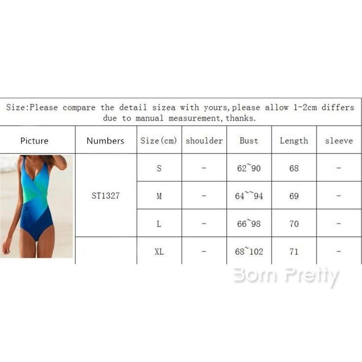 $12.40 1Pc Multilayer Gradient Color Sling Swimsuit Printing One-piecce Swimwear…