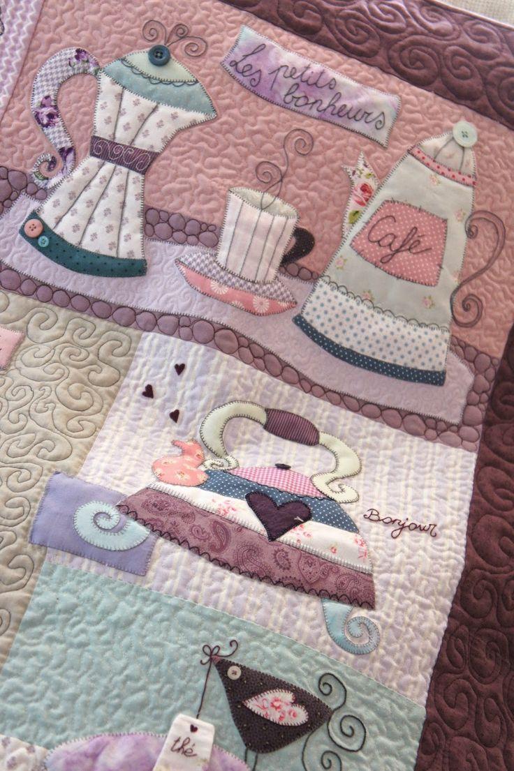 Y despu s de varios meses por fin hemos terminado nuestro sweet mystery quilt nueve - Proyectos de patchwork ...