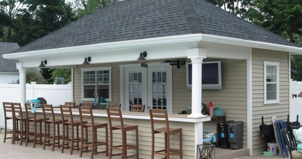 Custom Pool Houses - Amish Mike- Amish Sheds, Amish Barns, Sheds ... | Pool house | Pinterest | Vinyls, Pool houses and Amish sheds
