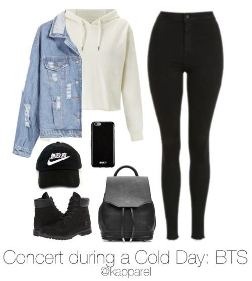 BTS Inspired Outfit