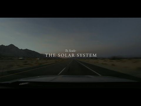 Earth is a marble in this to-scale model of the solar system in the desert - You probably know that our solar system is big. But do you have a grasp on just how big it really is? No.  A filmmaker and his buddies went to a dried-up lakebed in Nevada to do just that.