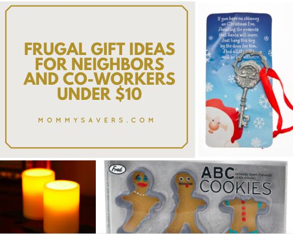 Frugal Gift Ideas for Neighbors and Co-Workers Under $10