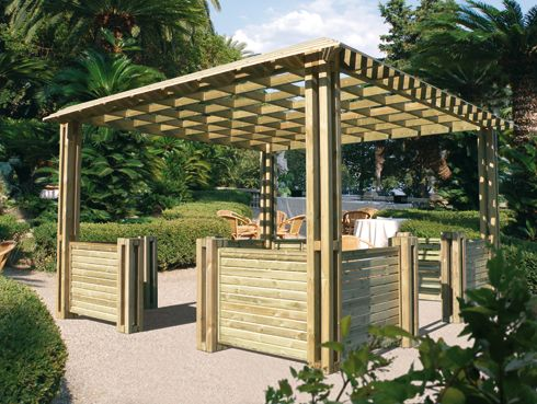pergola en bois bing images tout le monde dehors. Black Bedroom Furniture Sets. Home Design Ideas