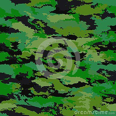 Camouflage protective military background. Camouflage background - vector illustration. Abstract seamless pattern