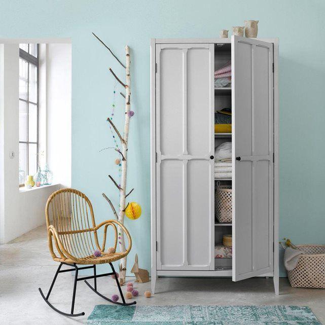 armoire 2 portes 4 tag res eug nie la redoute. Black Bedroom Furniture Sets. Home Design Ideas