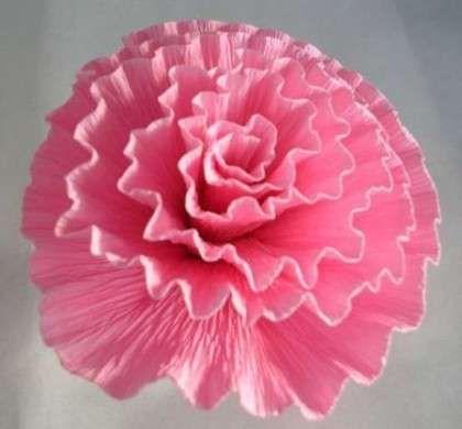 Fiori di carta crespa: come si fa il garofano | PourFemme