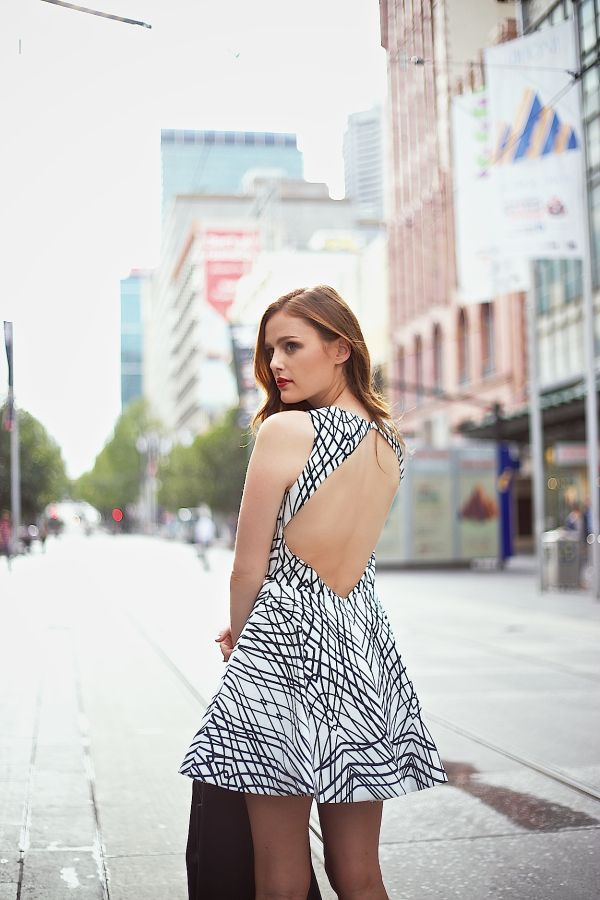 Keepsake The Label 'Above the Water' Dress, Finders Keepers 'Blackout' Bomber Jacket, Melbourne Fashion Blogger, Winston & Willow
