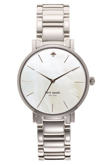 I have the desire to buy this for myself....     kate spade new york 'gramercy' bracelet watch | Nordstrom