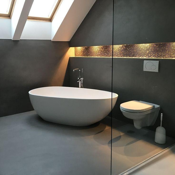 Unsere Luino in einem wunderschönen Badezimmer …