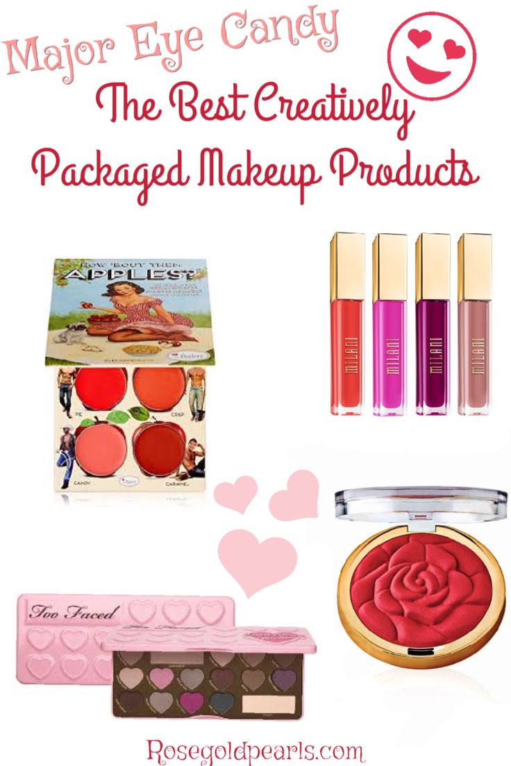 Are you a sucker for cute makeup products packaging? Join the club! And join me as we go over some major eye candy drooling over these super cute makeup products with creative packaging! Cute makeup products ideas | creative makeup ideas | Too Faced eyeshadow | the best drugstore makeup brands