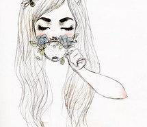 art, cute, drawing, girl, lol (Full Size)