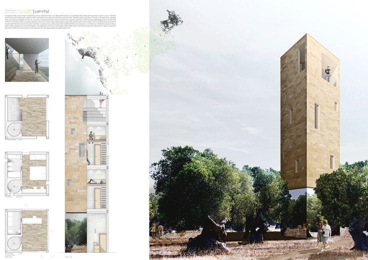 Luglio 2014 | Architectural Competition for students and young architects. Archistart. LHT LeveranoHorizonTower.  Riflessi di paesaggio  result shortlisted  project francesco polci giacomo razzolini antonio salvi