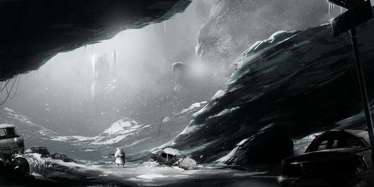 Nuclear winter by ~sketchboook on deviantART