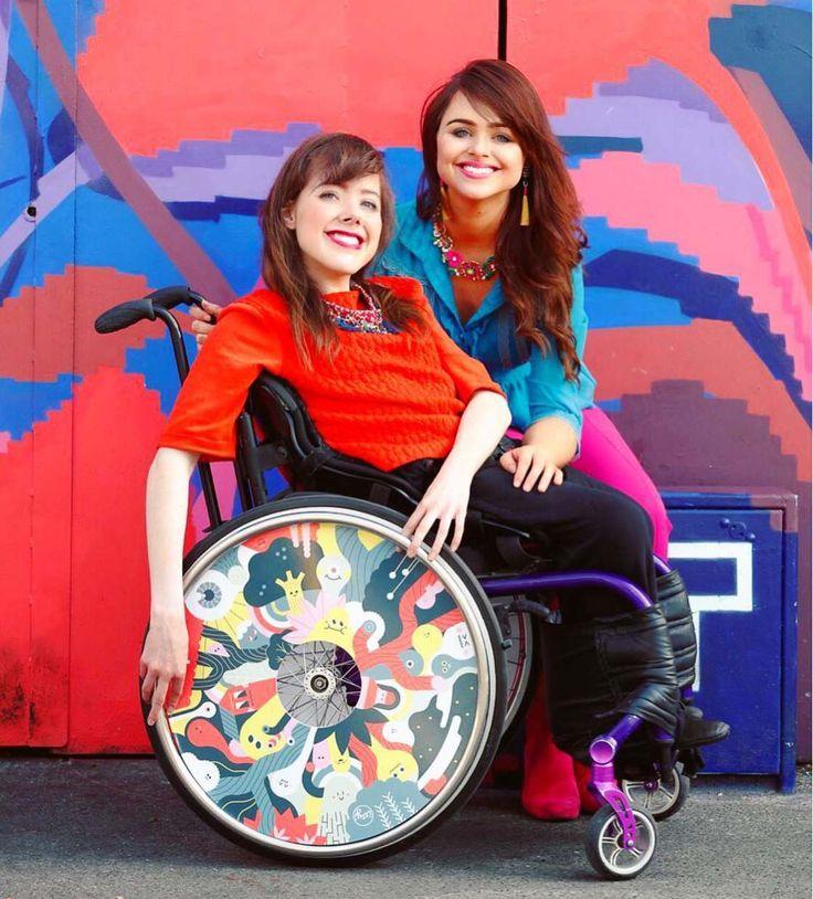 Ces deux sœurs créent des fauteuils roulants customisés par des artistes | Ufunk.net