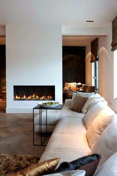 The beauty of casual comfort. Cozy corner