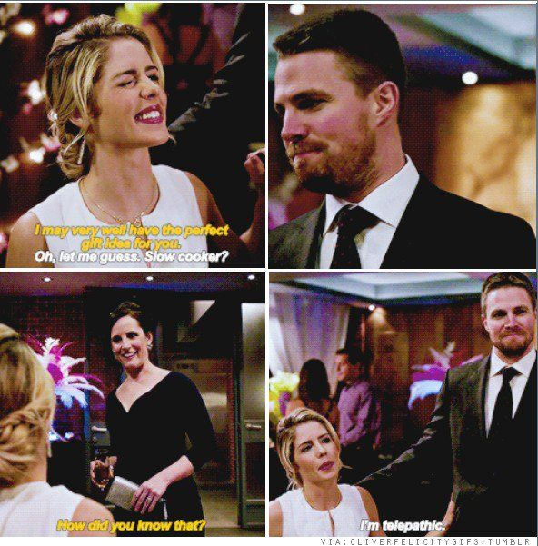 Arrow - Oliver & Felicity #4.14 #Olicity <3