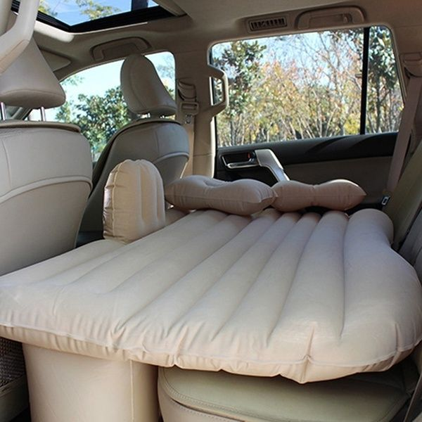 Car Back Seat Air Bed Air Mattress Travel Bed Inflatable Mattress