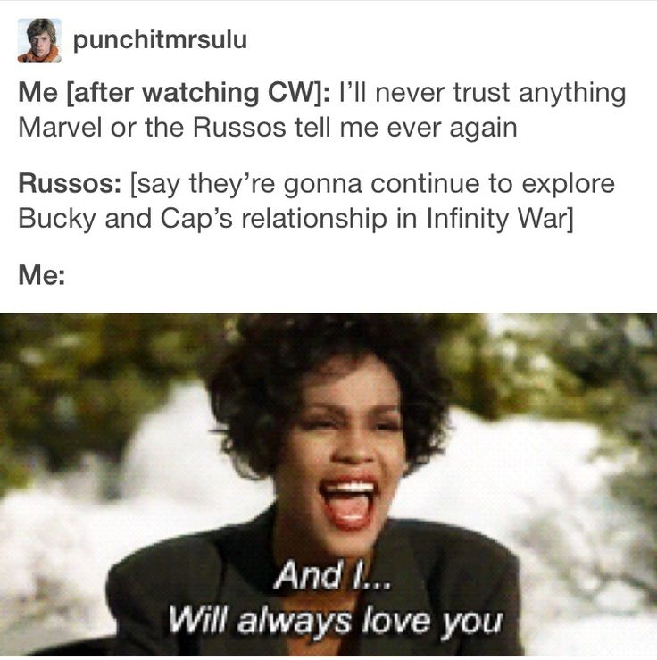 The Russos and Sebby himself are the only people I trust w any future Marvel movies.