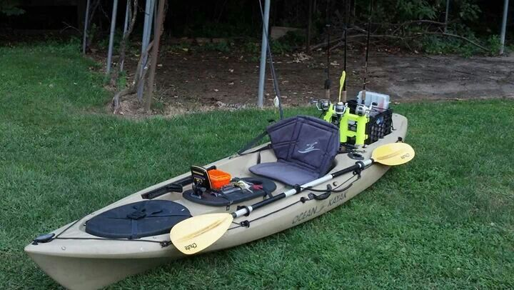 fishing kayak mods ocean kayak honey do pinterest
