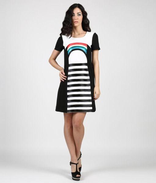 #ItalianStyle #madeinitaly #wearitalian Rainbow Dress
