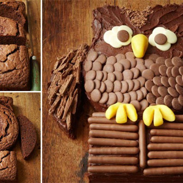 Tort - Sowa: Diy Ideas, Kids Parties, Diy Crafts, Chocolates Birthday Cakes, Owl Cakes, Diy Projects, Owl Birthday Cakes, 50 Birthday Cakes, Sweet Cakes