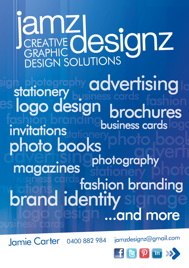 Jamz Designz offers a wide range of creative services to help enhance your business