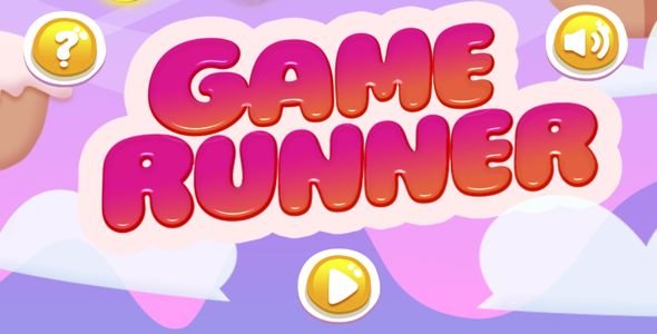 cool Candy Game Runner Complete Android Game - (Android Studio - Eclipse - Admob - Goole play solutions) (Games)