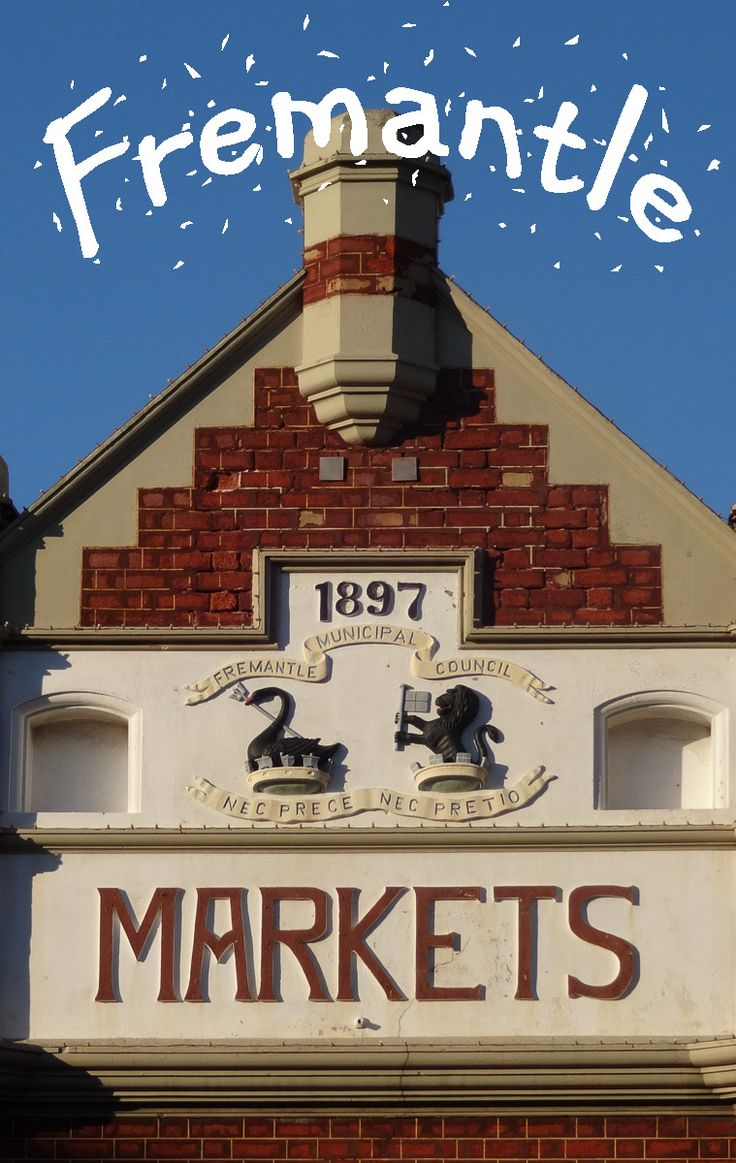 Fremantle is a great city to spend some days anytime of the year. There are great cafes, you can go to the beach and on the weekend the Fremantle Markets open the doors.