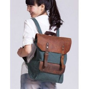 Canvas backpacks for school, vintage canvas backpack for women