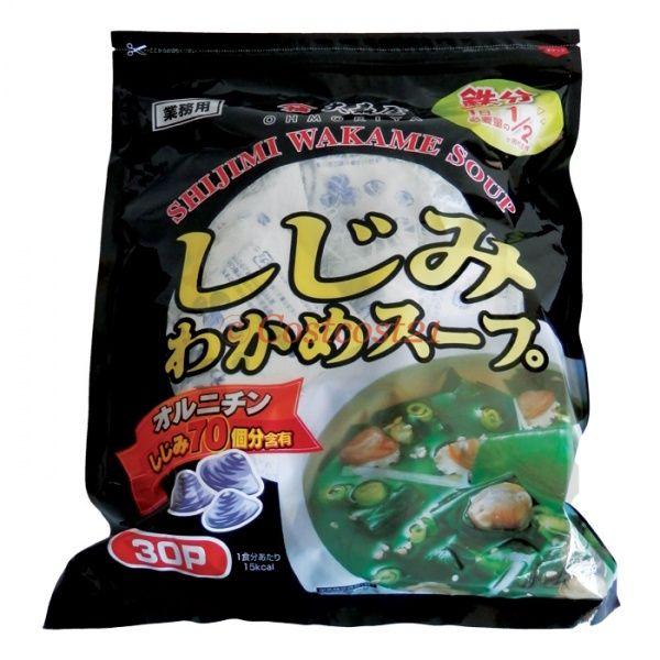¥46/袋 大森屋 しじみワカメスープ業務用5.4g X 30パック