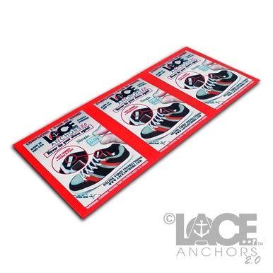 3 Individual packs of Lace Anchors 2.0