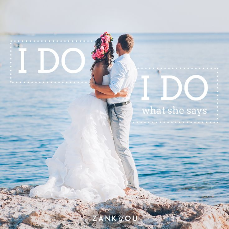 Wedding Quote #13  Il y a là une part de vérité, non ? :P <3  #love #wedding #quote #weddingquote #ido #jeleveux #citation #mariage #citationdemariage #amour #joke #fun