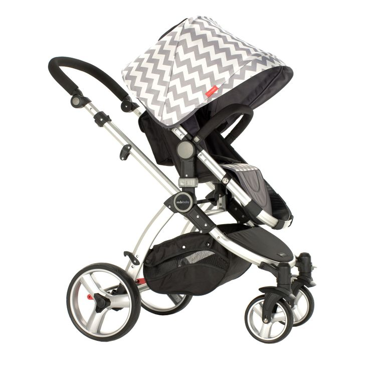 Redsbaby Bounce - The Utlimate All-In-One Stroller/ Pram www.redsbaby.com.au In Silver Dusk, ultimate style for you and your baby. Chevron elegance.