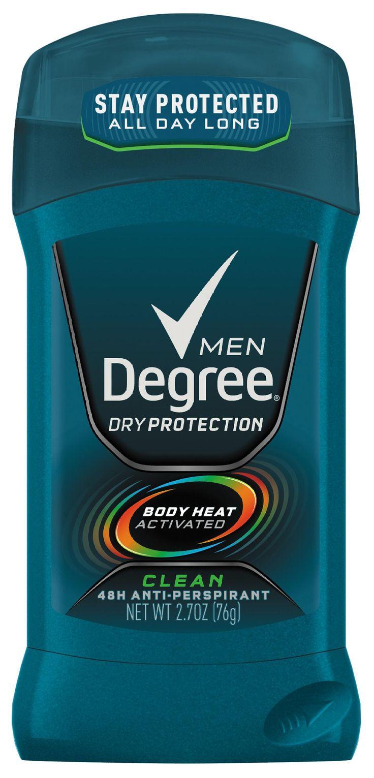 Degree, Men, antiperspirant, deodorant, 48 hour, body heat