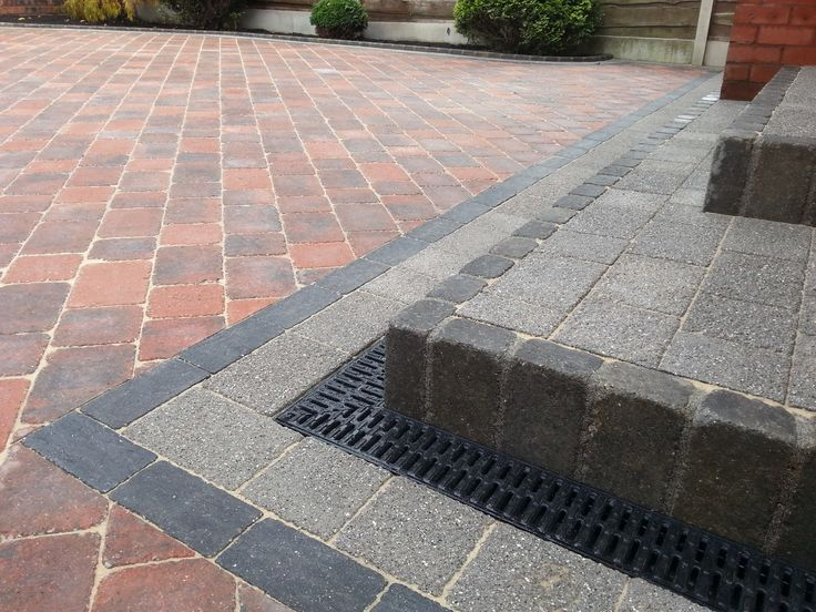 New Driveway In Manchester Using Marshalls Drivesett Duo