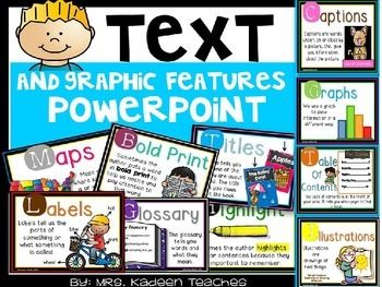 Text and Graphic Features powerpoint !