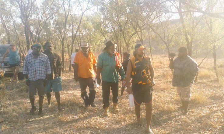 .@abcnewsNT Traditional owners are occupying a sacred site within Glencore's McArthur River Mine site: http://ab.co/1O8X8f1