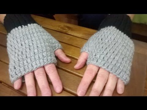 Como hacer Guantes y Gorros en crochet o ganchillo - YouTube