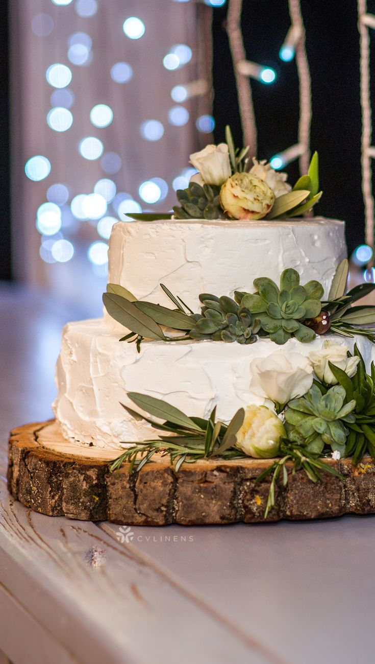 Basswood Slab Slice 9 To 10 Round Natural Wood Wedding Cakes Cake Table Decorations Rustic Cake Tables