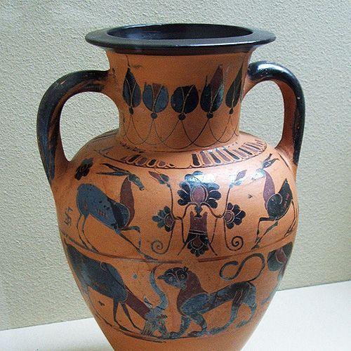 25 unieke idee n over oude vazen op pinterest goedkope pronkstukken spuitlak vazen en spuit - Oude griekse decoratie ...