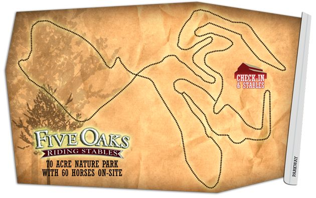 Smoky+Mountains+Horseback+Riding+Trail+Map+-+Five+Oaks+Stables