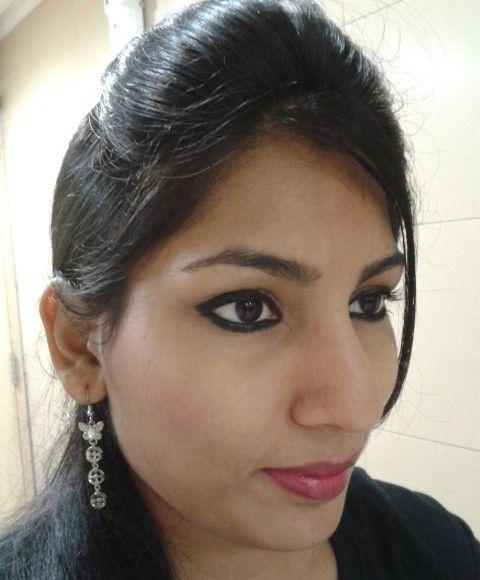 Lakme Eyeconic Kajal Review, Swatch, EOTD