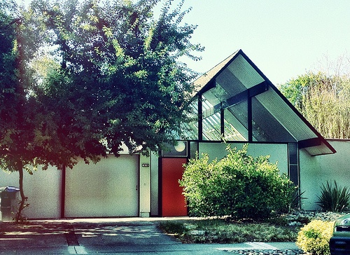 Road Trip To Eichler Tracts U2013 Mid Century Modern Exteriors Located In San  Jose,