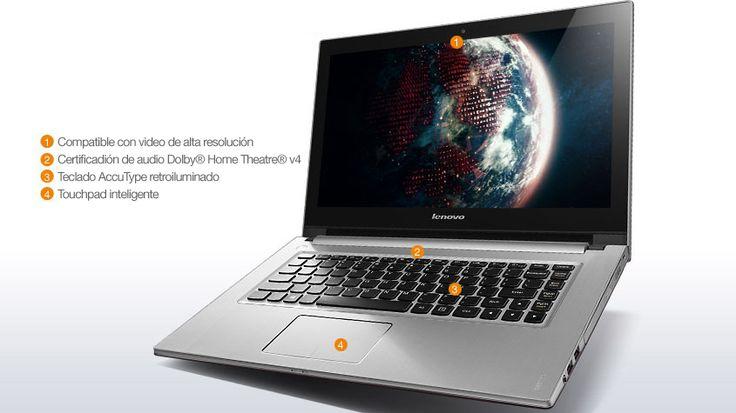 Laptops IdeaPad Z400 Touch.  www.lenovo.com/ar