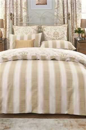 Buy 2 Pack Gold Damask Bed Set from the Next UK online shop