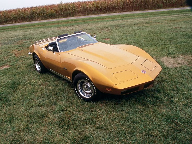 1973 Chevy Corvette Vette Magazine Chevrolet Corvette