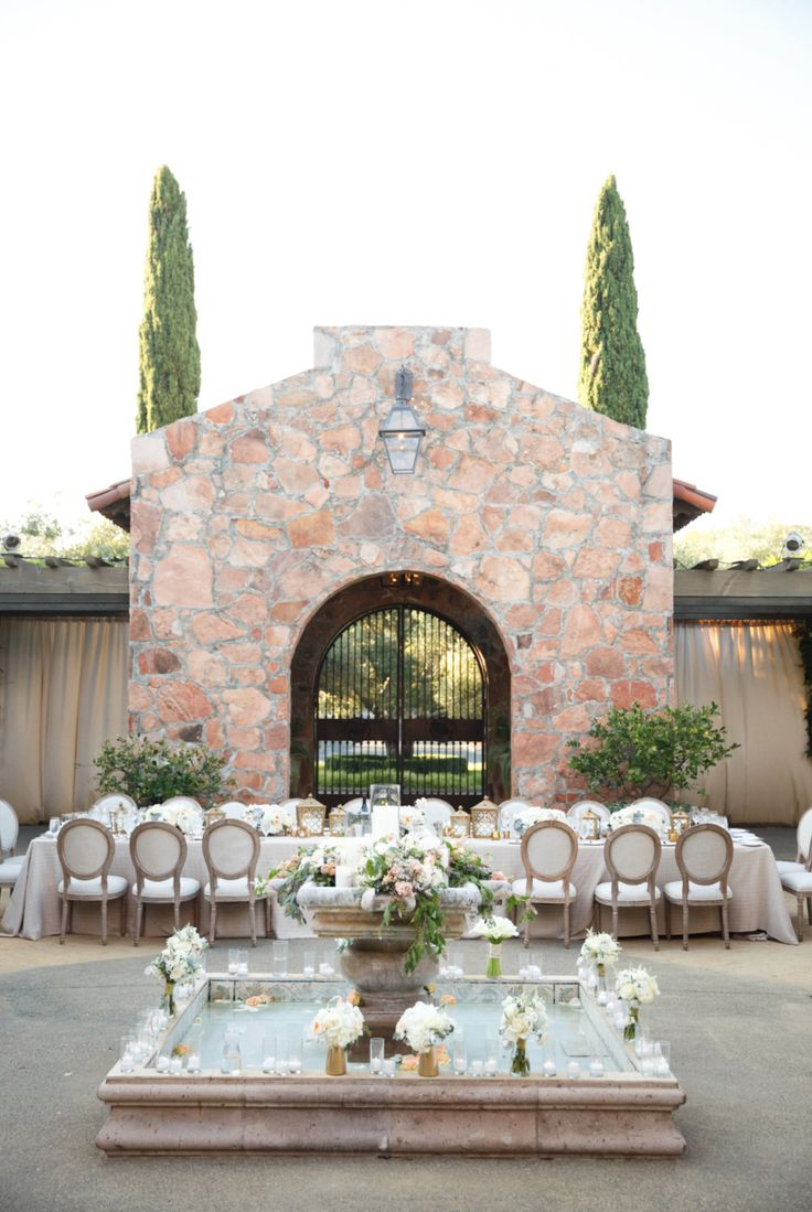 12 best mayacama events images on pinterest events for Best intimate wedding venues