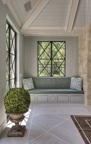 windows and window seat